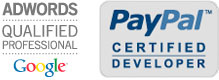Google AdWords Professional und Certified PayPal Developer